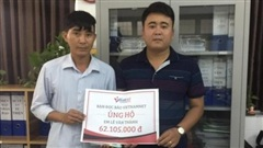 Em Lê Văn Thành bị tai nạn giao thông đã được xuất viện