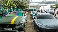 Dàn siêu xe, xe siêu sang trăm tỷ đủ sắc màu của giới đại gia Sài Thành du ngoạn tới Vùng Tàu dịp cuối tuần