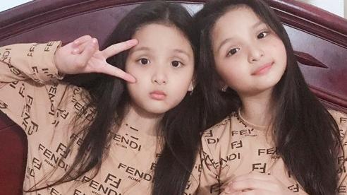 Cặp sinh đôi Đắk Lắk từng bị bác sĩ thông báo 'gia đình về lo hậu sự', 9 năm sau lớn bổng, xinh xắn như búp bê