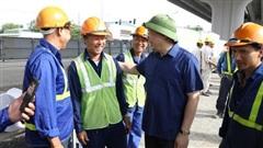 Bí thư Thành ủy Hà Nội kiểm tra các dự án trọng điểm của Thủ đô