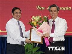 Bí thư Tỉnh ủy Bạc Liêu giữ chức Phó Ban Tổ chức Trung ương