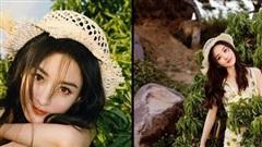 Visual ngày càng đỉnh cao của Triệu Lệ Dĩnh, mặc đồ Dior đội mũ rơm vẫn xinh ngất ngây