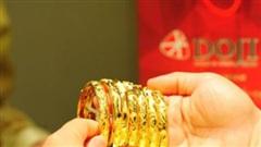 Phiên đầu tuần, giá vàng trong nước tiếp tục tăng mạnh