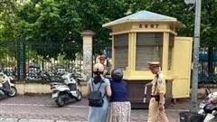 Phòng CSGT Hà Nội lên tiếng: Không có việc CSGT giật ngã cô gái điều khiển xe máy đi trên đường