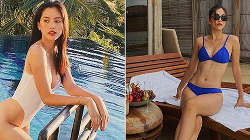 Hoa hậu Trần Tiểu Vy tung ảnh mặc bikini táo bạo