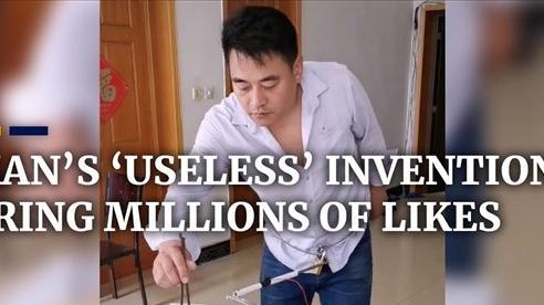 Phì cười trước những phát minh 'vô dụng' vẫn có hàng triệu like