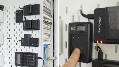 Cách tự tạo 'trạm sạc' gắn tường độc đáo cho tất cả thiết bị điện tử của bạn