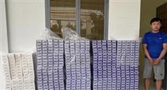 Bắt đối tượng vận chuyển 6250 gói thuốc lá lậu