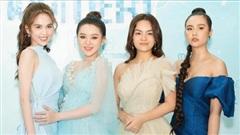 Ngọc Trinh chẳng cần 'hở' 3 vòng vẫn đầy quyến rũ, chặt chém bên Phạm Quỳnh Anh và Huyền Lizzie tại sự kiện