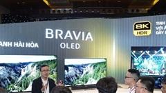 Sony giới thiệu dòng TV mới với kích thước lớn, nhiều tiện ích giải trí