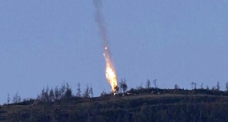 Phiến quân Syria bắn rơi máy bay Nga trên bầu trời Idlib