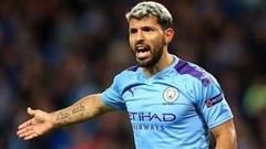 Man City đề nghị hợp đồng mới cho Serio Aguero