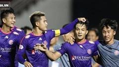 'Ngựa ô V.League' thắng trận thứ ba liên tiếp, vượt qua đội Công Phượng để lên đỉnh BXH