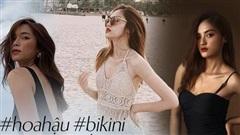 Dàn thí sinh Hoa Hậu Việt Nam đọ sắc với bikini: Ai cũng chân dài thẳng tắp, body nóng bỏng hay mảnh mai đều 'cân' hết