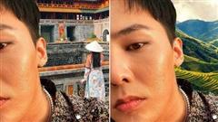 Thương G-Dragon lâu không được đi du lịch, fan hết lòng ghép ảnh anh đi khắp Việt Nam