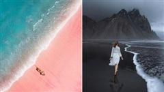 Những bãi biển màu mè nhất thế giới mà bạn sẽ không tin có thật ngoài đời, xem xong mới thấy thiên nhiên 'vi diệu' thế nào!