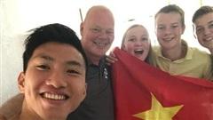 Văn Hậu tạm biệt những người thân cuối cùng tại Hà Lan và về Việt Nam vào ngày hôm nay
