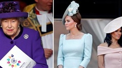 Meghan Markle từng cãi nhau với chị dâu Kate nhiều đến nỗi Nữ hoàng Anh buộc ra tay can thiệp nhưng cuối cùng cũng bất thành