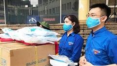 Tuổi trẻ Thủ đô hỗ trợ trang thiết bị y tế cho Đà Nẵng