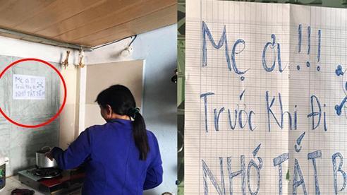 Về mẹ đẻ ở cữ 3 tháng, cô gái phải viết tờ giấy đặc biệt dán lên bếp vì sự an nguy của cả nhà