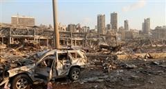 Hình ảnh rợn người hiện trường vụ nổ khiến hơn 4.000 người thương vong ở Lebanon