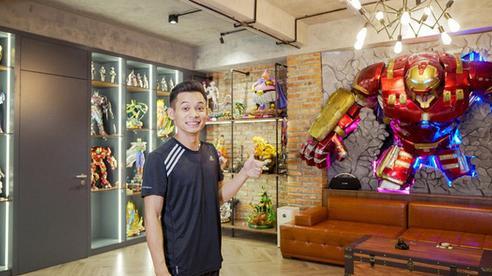 Độ Mixi khoe nhà mới, choáng ngợp với phòng stream 'xịn sò', trang trí toàn đồ chơi khủng