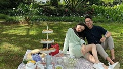 Ảnh Hương Giang tình tứ với Matt Liu chạm mốc 700 ngàn tim đầu tiên trên Instagram sao Việt