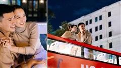 Cô gái cùng người yêu đi xe buýt 'mui trần' ở Sài Gòn đã có bộ ảnh lãng mạn 'hú hồn', cần gì sang chảnh như Matt Liu và Hương Giang!