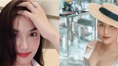 Lan Khuê khoe nhan sắc 'gái 1 con' mãn nhãn, nhưng nhẫn kim cương khủng mới chiếm spotlight