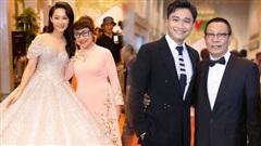 Cả dàn MC quyền lực hiếm lắm mới hội ngộ: Thu Hà lộng lẫy loá mắt, Lại Văn Sâm rạng rỡ bên nghệ sĩ trên thảm đỏ VTV Awards