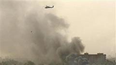 Sân bay quốc tế ở thủ đô Iraq tiếp tục bị tấn công bằng 3 quả rocket