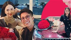 Mới yêu 3 tháng mà Matt Liu đã cung phụng Hương Giang như bà hoàng, từ hành động cho đến vật chất đều toát lên 'mùi đại gia'