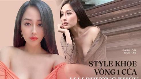 Hoa hậu mặc 'bốc' nhất hẳn là Mai Phương Thúy: Chuyên diện váy áo trễ nải, nhiều phen vòng 1 như trào ra ngoài