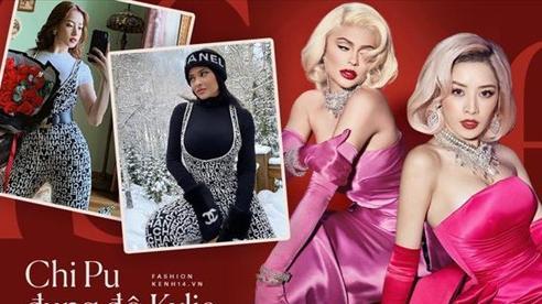 Hình như Chi Pu coi Kylie Jenner là idol thời trang thì phải: Hết lên đồ sexy y chang đến học theo cách pose hình phồn thực