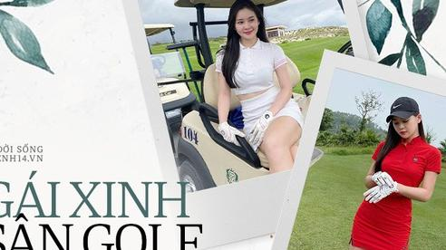Danh hiệu hot nhất sân golf đang thuộc về gái đẹp RMIT: Xem ảnh nào là muốn đổ rạp ảnh đấy!