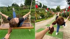 Cô gái Đà Lạt chụp bộ ảnh đi chơi theo phong cách 'đánh ghen túm tóc' khiến dân mạng giật mình, chỉ nhìn thôi đã thấy đau (!)