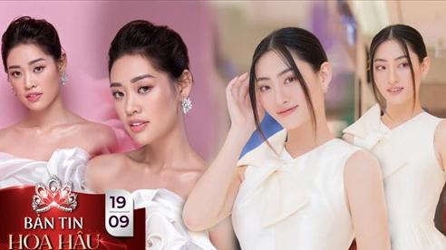 Cùng diện sắc trắng tinh khôi, Khánh Vân - Lương Thùy Linh đẹp dịu dàng bất phân thắng bại