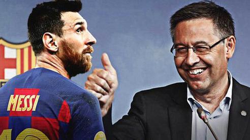 Chủ tịch Barca: 'Tôi không gây chiến với Messi'