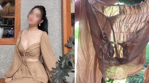 Mua hàng đẹp do hot girl mặc, cô gái nhận về đồ như giẻ lau, phản ứng của chủ shop mới gây bức xúc