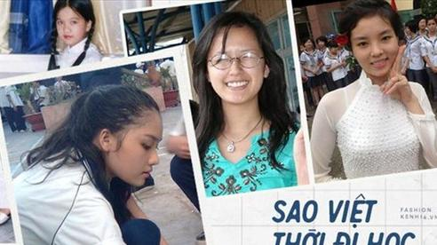 Sao Việt thời đi học: Người điệu sớm, người xinh không cần son phấn, người 'chân phương' ngỡ ngàng
