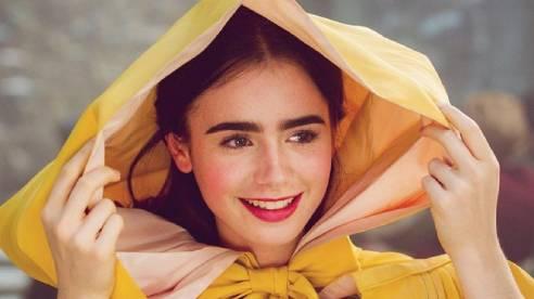 Vẻ đẹp rực rỡ, gây mê mẩn của của 'Công chúa Hollywood' Lily Collins