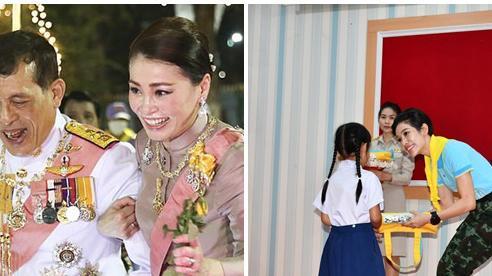 Hoàng hậu Thái Lan ngày một tỏa sáng, thể hiện tình cảm gắn bó với nhà vua trong khi Hoàng quý phi vắng bóng