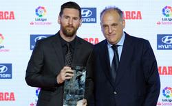 Sốt sắng giữ Messi, sếp lớn của La Liga 'hù dọa' siêu sao xứ Tango