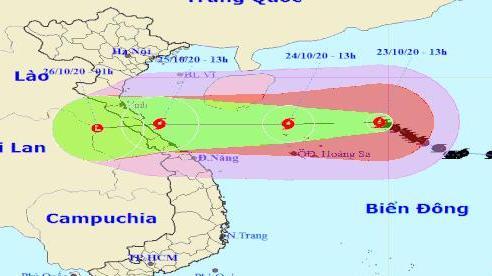 Trung tâm Dự báo KTTV Quốc gia cảnh báo 'đặc biệt' khu vực 'trọng tâm' bão số 8
