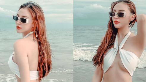 Hot girl Kelly Nguyễn khoe vóc dáng nóng bỏng sau thời gian dài ở ẩn