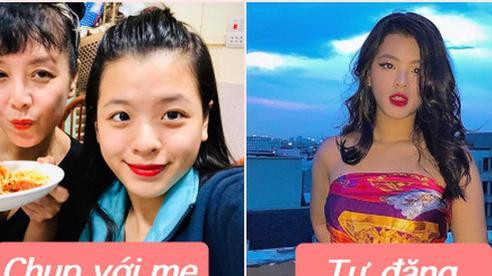 Hồng Khanh cực khác khi làm 'con gái của mẹ Chiều Xuân' và ảnh trên Instagram, bạn đã xem chưa?