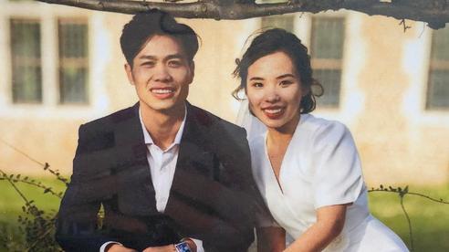 Lộ ảnh cưới hiếm của Công Phượng và Viên Minh: Cô dâu chú rể chỉ cần tựa vào nhau, bình dị mà sao nhìn muốn GATO thế này?