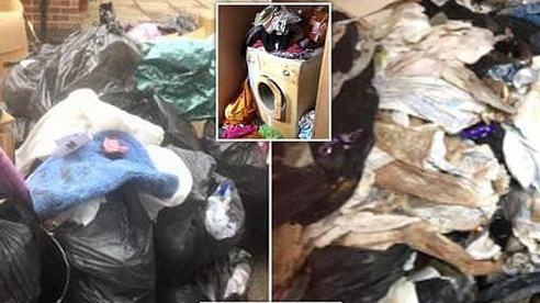 Ngôi nhà tích trữ 27 tấn rác ngồn ngộn suốt 1 thập kỷ, không hề vứt bỏ một lần nào khiến đội dọn dẹp suýt ngã ngửa