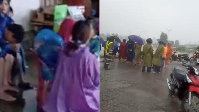 Người nhà thai phụ bị nước lũ cuốn mất tích ở Huế: Khóc nấc, chỉ mong tìm thấy 2 mẹ con