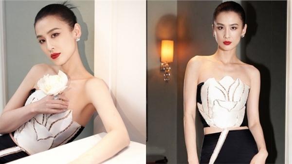 'Mỹ nhân nổi tiếng nhờ Châu Tinh Trì' Huỳnh Thánh Y diện trang phục đến từ NTK Việt Nam